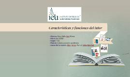 Características y funciones del tutor