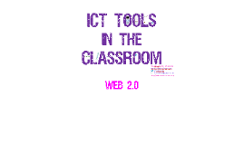 ICT tools in the classroom