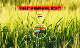 """Bubble"" of enviromental security"