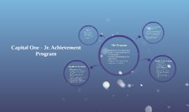 Capital One - Jr. Achievement Program
