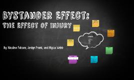 Bystander Effect: