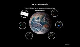 LA GLOBALIZACIÓN.