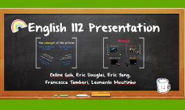 English 112 Presentation