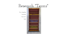 Research Preliminary Information