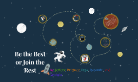 Copy of Be the Best or Join the Rest