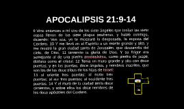APOCALIPSIS 21:9-14