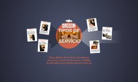 Copy of TIPOS DE SERVICIO