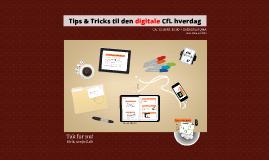 Digitale Tricks i den CfLske 2014-hverdag
