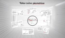 Tablas (cartas psicometricas)