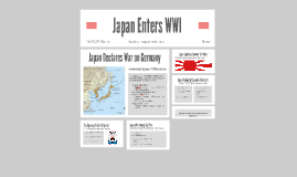 Japan and WWI