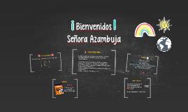 ¡Bienvenidos! 6th grade Spanish