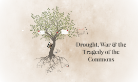 Drought, War & the Tragedy of the Commons