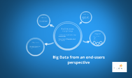 Big Data from an users perspective