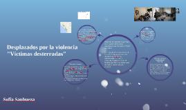 Desplazados por la violencia