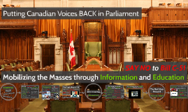 SAY NO to Bill C-51