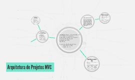 Arquitetura de Projetos MVC