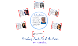 Reading Link Book Authors