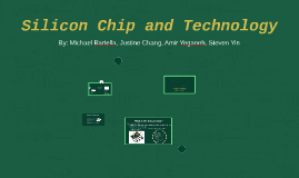 Silicon Chip and Technology
