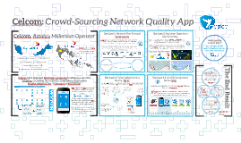 Celcom: Network Quality Crowd-Sourcing App