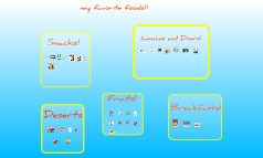 my favorite foods!