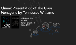 Climax Presentation of The Glass Menagerie by Tennessee Will