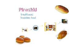 Russian Traditional dish - pirozhki