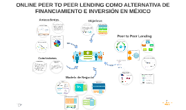 Copy of Online Peer to Peer Lending