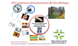 Copy of XXI Congresso Latinoamericano de Microbiologia