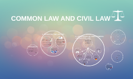 Copy of COMMON LAW AND CIVIL LAW