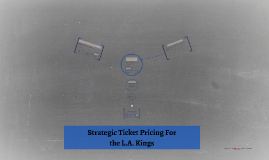 Strategic Ticket Pricing For the L.A. Kings
