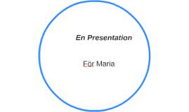 En Presentation