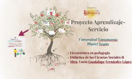 Proyecto Aprenduzaje- Servicio
