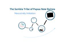 The Sambia of Papua New Guinea