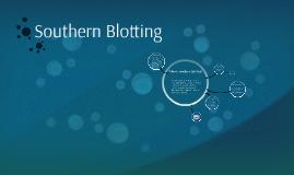 Southern Blotting