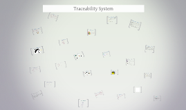 Traceability System