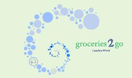 Groceries 2 Go