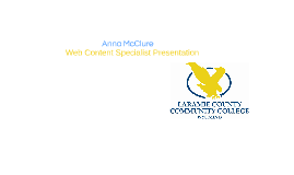 Web Content Specialist