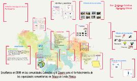 Enseñanza en DDHH en las comunidades Canastas y el Cóporo pa