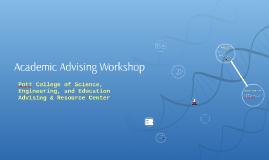 Academic Advising Workshop