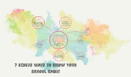 7 Genius Ways to Show Your School Spirit