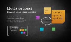 Plantilla Mapas Mentales de José Antonio Martínez Ruzafa