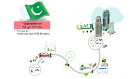 Pakistan Budget 2015-16 Presentation
