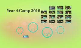 Year 4 Camp 2016