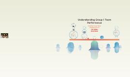 Understanding Group & Team Performance