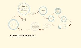 Deberes y Actos comerciales