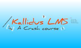 Kallidus LMS