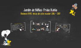 Jardín de Niños: Frida Kahlo