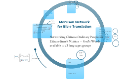 Morrison Network for Bible Translation