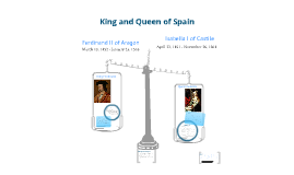 Queen Isabella and King Ferdinand of Spain