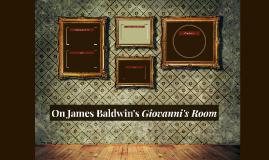 On James Baldwin's Giovanni's Room
